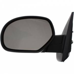 Kool Vue - 07-14 CHEVY SUBURBAN/GMC YUKON XL MIRROR LH, Power, Heated, w/ Gloss Black Cap, w/o Courtesy Lamp