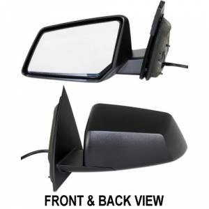 Kool Vue - 09-12 CHEVY TRAVERSE MIRROR LH, Power, Heated, w/o Signal Lamp, Manual Folding, Paint to M