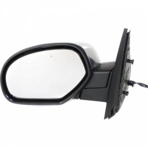 Kool Vue - 07-14 CHEVY SUBURBAN MIRROR LH, Chrome, w/o Courtesy Lamp, w/ Off Road Package