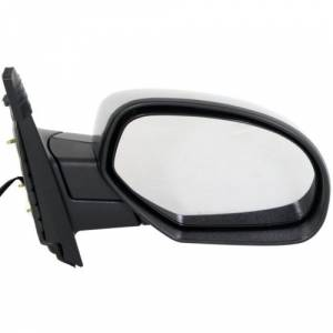 Kool Vue - 07-14 CHEVY SUBURBAN MIRROR RH, Chrome, w/o Courtesy Lamp, w/ Off Road Package