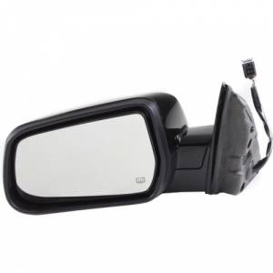 Kool Vue - 10-12 GMC TERRAIN MIRROR LH, Power, Heated, Manual folding, Paint to Match