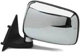 Kool Vue - 86-93 MAZDA PICKUP MIRROR LH, Chrome