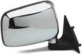 Kool Vue - 86-93 MAZDA PICKUP MIRROR RH, Chrome