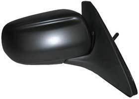 Kool Vue - 99-03 MAZDA PROTEGE MIRROR RH, Power, Non-Heated, Black Textured Cap