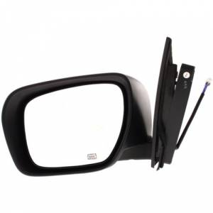 Kool Vue - 07-09 MAZDA CX-7 MIRROR LH, Power, Heated, Manual Folding, Black
