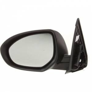 Kool Vue - 10-13 MAZDA 3 MIRROR LH, Power, Heated, Manual Fold, Paint to Match, w/ Side Signal Lamp