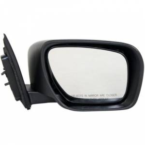 Kool Vue - 07-09 MAZDA CX-9 MIRROR RH, Power, w/o Defogger, w/ Signal Lamp, Brilliant Black, (Code A3F), Paint To Mat