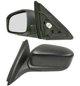 Kool Vue - 03-07 HONDA ACCORD MIRROR LH, Power, Heated, Manual Folding, Black, Sedan, Japan/USA Built