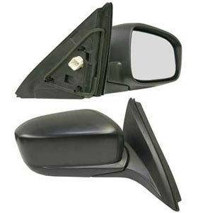 Kool Vue - 03-07 HONDA ACCORD MIRROR RH, Power, Heated, Manual Folding, Black, Sedan, Japan/USA Built