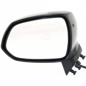 Kool Vue - 07-08 HONDA FIT MIRROR LH, Power, Non-Heated, Manual Folding, 3-hole, 3-prong connector