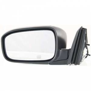 Kool Vue - 03-07 HONDA ACCORD MIRROR LH, Power, Heated, Foldaway, Manual Folding, Black, Coupe