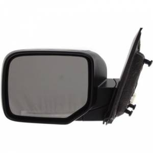 Kool Vue - 09-14 HONDA PILOT MIRROR LH, Power, Heated, Manual Folding, Paint to Match, w/o Turn Signal Lamps
