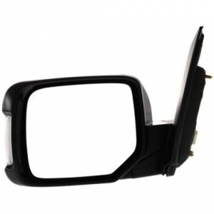 Kool Vue - 09-14 HONDA PILOT  MIRROR LH, Power, Heated, Manual Folding, Paint to Match, Memory, w/ Turn Signal Lamps
