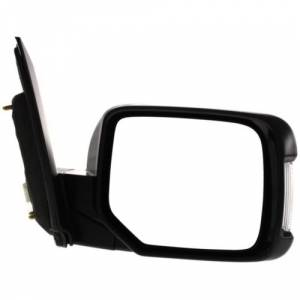 Kool Vue - 09-14 HONDA PILOT  MIRROR RH, Power, Heated, Manual Folding, Paint to Match, Memory, w/ Turn Signal Lamps