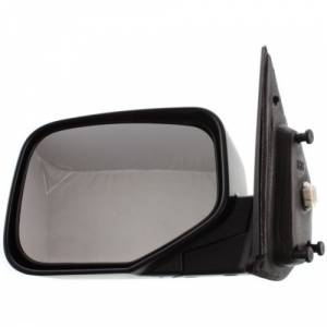 Kool Vue - 06-11 HONDA RIDGELINE MIRROR LH, Power, Non-Heated, Manual Folding, Textured Black