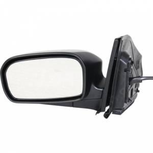 Kool Vue - 02-05 HONDA CIVIC MIRROR LH, Power, Non-Heated, Manual Folding, Textured Black, Hatchback
