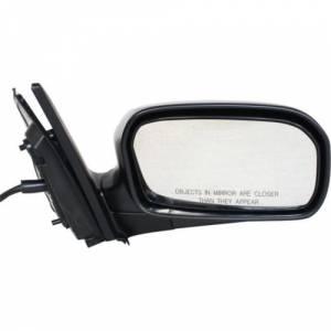 Kool Vue - 02-05 HONDA CIVIC MIRROR RH, Power, Non-Heated, Manual Folding, Textured Black, Hatchback