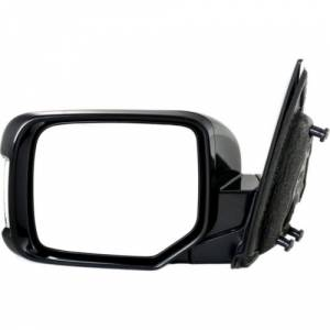 Kool Vue - 11-14 HONDA PILOT MIRROR LH, Power, Non-Heated, w/ Turn Signal Lamps, Dark Cherry (Code R529P), Paint to M