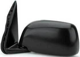 Kool Vue - 95-00 TOYOTA TACOMA MIRROR LH, Manual, Black, Housing 9x5 in.