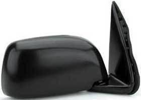Kool Vue - 95-00 TOYOTA TACOMA MIRROR RH, Manual, Black, Housing 9x5 in.