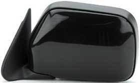 Kool Vue - 90-95 TOYOTA 4RUNNER MIRROR LH, Power, Black, w/o Vent Window, Corner Mount