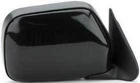 Kool Vue - 90-95 TOYOTA 4RUNNER MIRROR RH, Manual, Black, w/o  Vent Window, Corner Mount