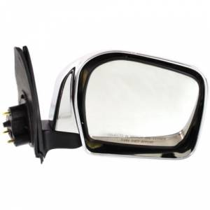 Kool Vue - 2000 TOYOTA TACOMA  DOOR MIRROR RH, Manual, Chrome, w/Off Road Package, Housing 9 in. x 7 in.