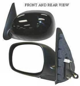 Kool Vue - 01-04 TOYOTA SEQUOIA MIRROR LH, Power, Heated, Foldable, Primed-Black
