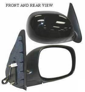 Kool Vue - 01-04 TOYOTA SEQUOIA MIRROR RH, Power, Heated, Foldable, Primed-Black