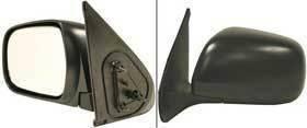 Kool Vue - 2005 TOYOTA TACOMA MIRROR LH, Manual, Foldaway, Black, Regular Cab/Access Cab/Double Cab
