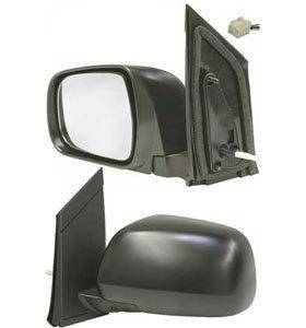 Kool Vue - 04-05 TOYOTA SIENNA MIRROR LH, Power, Heated, Outer, Foldaway, Black, w/o Auto Dimmer, Glass-Convex