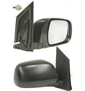 Kool Vue - 04-05 TOYOTA SIENNA MIRRORRH, Power, Heated, Outer, Foldaway, Black, w/o Auto Dimmer, Glass-Convex