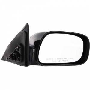 Kool Vue - 02-06 TOYOTA CAMRY MIRROR RH, Power, Non-Heated, Convex Glass, Non-Folding, Head-Painted Black, Japan Built