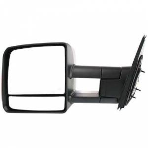 Kool Vue - 07-13 TOYOTA TUNDRA MIRROR LH, Power, Heated, w/ Towing Pkg., Telescopic, w/ Turn Signal, Manual Folding