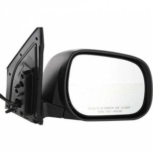 Kool Vue - 06-08 TOYOTA RAV4 MIRROR RH, Power, Non-Heated, w/ Cover, Paint to Match, w/o Signal, Manual Folding, Japan