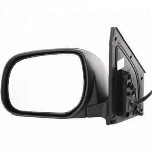 Kool Vue - 06-08 TOYOTA RAV4 MIRROR LH, Power, Heated, w/ Cover, Paint to Match, Manual Folding, 5-hole, 5-prong conne