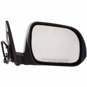 Kool Vue - 08-13 TOYOTA HIGHLANDER MIRROR RH, Power, Non-Heated, Manual Folding