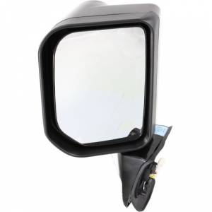 Kool Vue - 07-09 TOYOTA FJ CRUISER MIRROR LH, Power, Heated, w/ Lamp, w/o Special Edition Pkg., Manual Folding