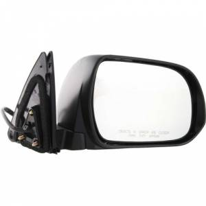 Kool Vue - 08-13 TOYOTA HIGHLANDER MIRROR RH, Power, Heated, w/ Puddle Light, Manual Folding, Paint to Match