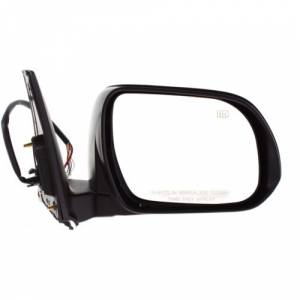 Kool Vue - 10-13 TOYOTA 4RUNNER MIRROR RH, Power, Heated, w/ Turn Signal Lamp, Manual Folding, w/ Puddle Lamp, Paint t