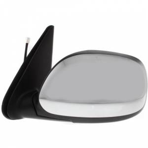 Kool Vue - 04-06 TOYOTA TUNDRA MIRROR LH, Power, Heated, Manual Folding, Chrome, Crew Cab Pickup, SR5 Model