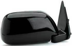 Kool Vue - 89-95 TOYOTA PICKUP MIRROR RH, Manual Folding, Black, Corner Mount, Standard w/o Vent Window Type