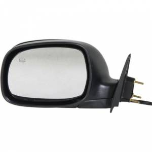Kool Vue - 00-06 TOYOTA TUNDRA MIRROR LH, Heated, Black, (Code 202), Limited Model