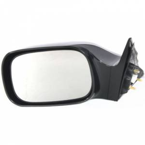 Kool Vue - 05-10 TOYOTA AVALON MIRROR LH, Black, (Code 202), w/ Navigation System, Touring/XL/XLS Models