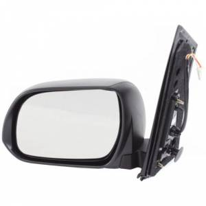 Kool Vue - 11 TOYOTA SIENNA MIRROR LH, Power, Non Heated, Manual Folding, Textured, w/o Memory