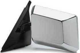 Kool Vue - 82-93 CHEVY S-10/GMC S-15 MIRROR LH, Chrome Below Eyeline, Swing-away Type
