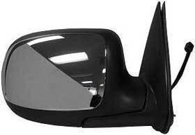 Kool Vue - 99-02 CHEVY SILVERADO / GMC SIERRA PICKUP MIRROR RH, Power, Non Heated, Folding, Chrome
