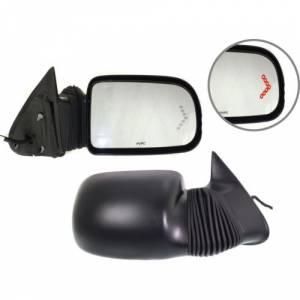 Kool Vue - 03-05 CHEVY SILVERADO / GMC SIERRA PICKUP TOW MIRROR RH, Power Camper Mirror, Power Extend/Retract/Glass Tilt,