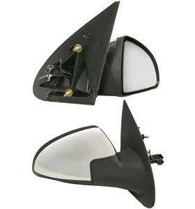 Kool Vue - 05-10 CHEVY COBALT MIRROR RH, Cover, Manual, Non Foldaway, Chrome, Sedan