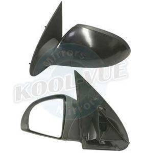 Kool Vue - 05-10 CHEVY COBALT MIRROR LH, Assy, Rear View, Manual, Non Foldaway, Sedan